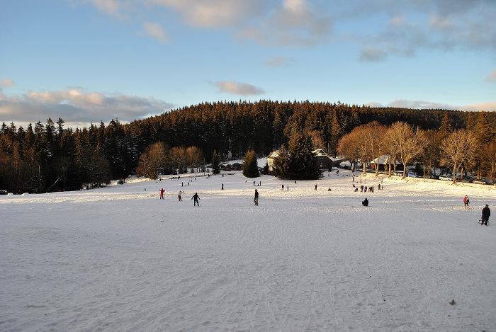 Schlittenwiese in Frauenwald (Thüringen)