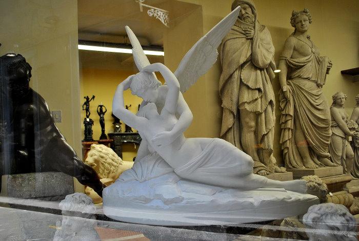 Skulpturen-Geschäft