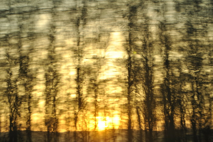 Sonnenuntergang - Fotoimpressionismus