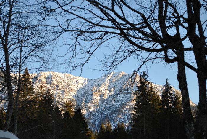 Auf einer Ausflugsfahrt von Grainau zum Plansee enstand dieses Foto