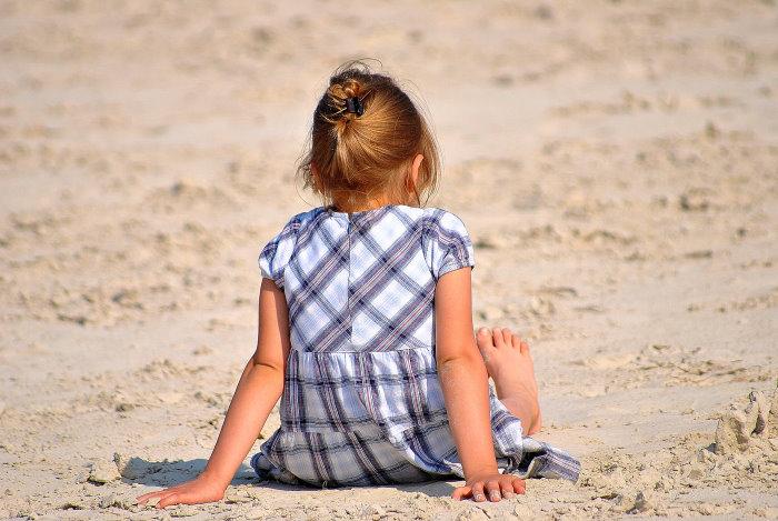 ... in den Sand gesetzt ...