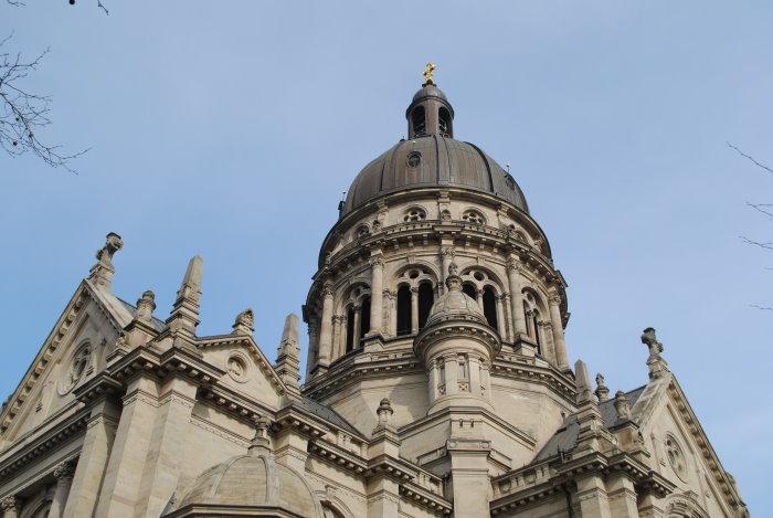 Die Kuppel der Christuskirche