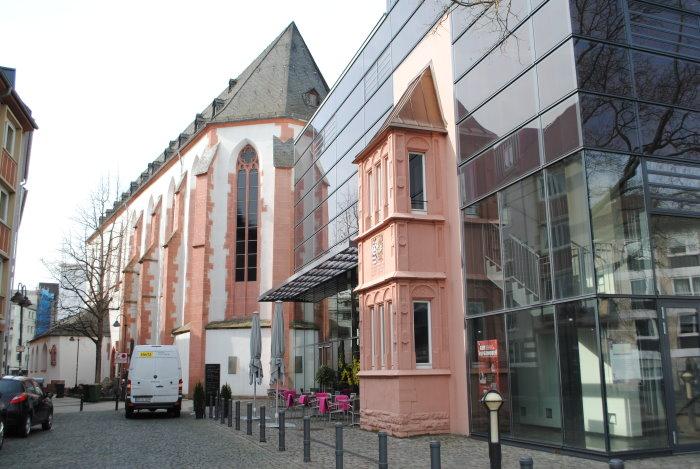 Das naturhistorische Museum in Mainz - linke Seitenansicht