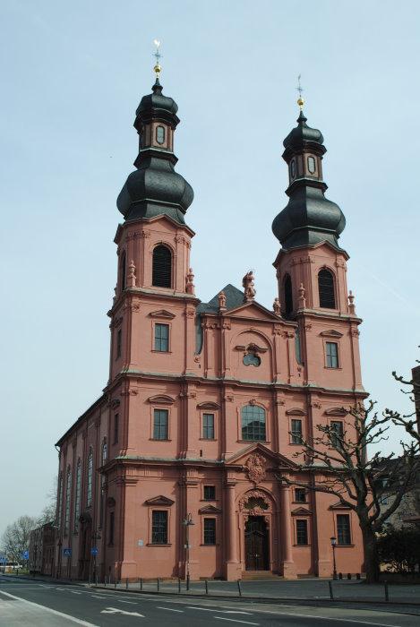 Kirche St. Peter in Mainz - Haupteingang