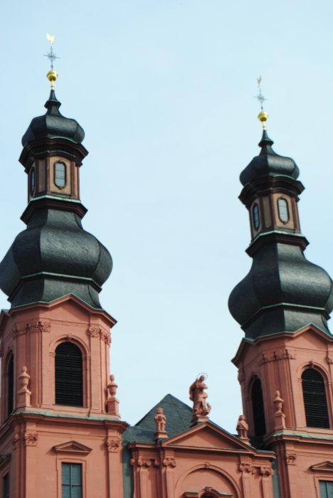 St. Peter's Zwiebeltürme