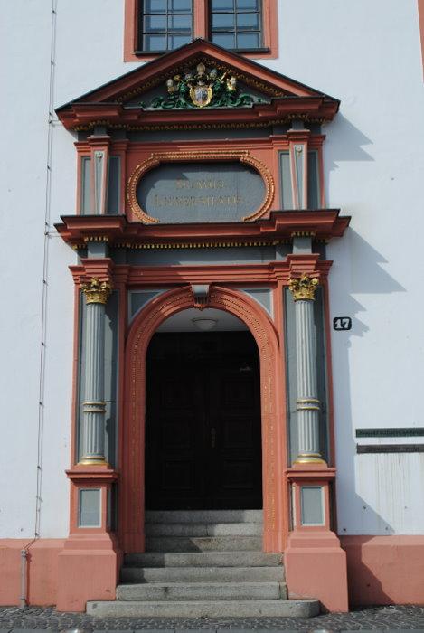 Eingang zur alten Universität