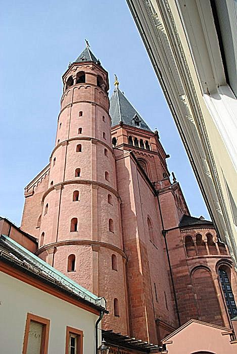 Blick von der Domstraße zum Dom