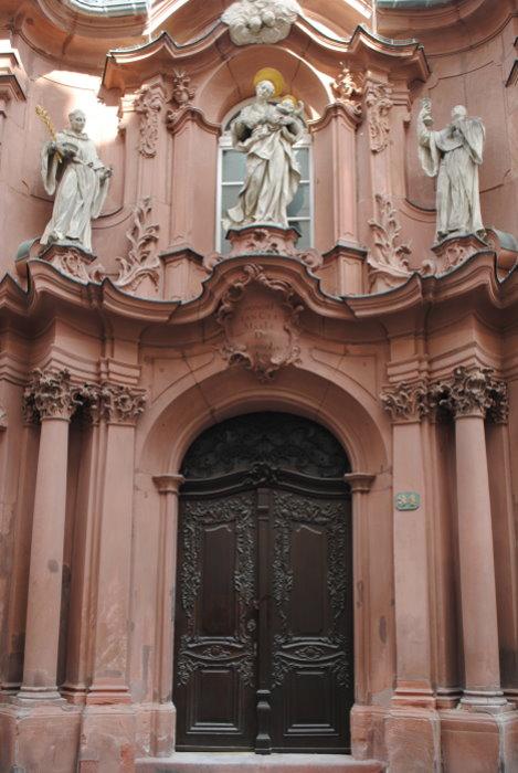 Figurengruppe an der Augustinerkirche