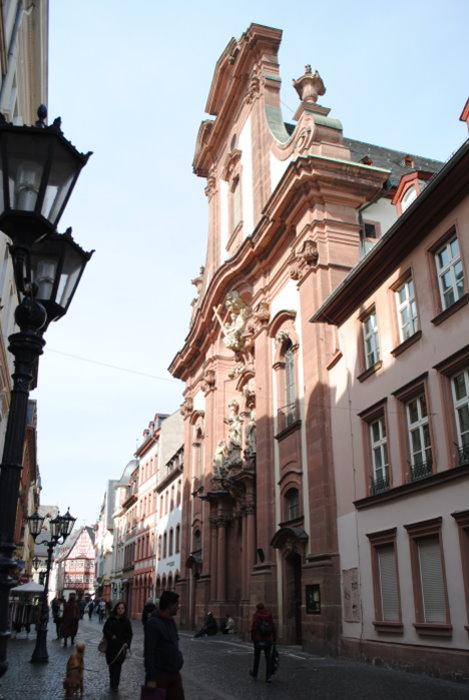 Augustinerkirche in der Augustinerstraße