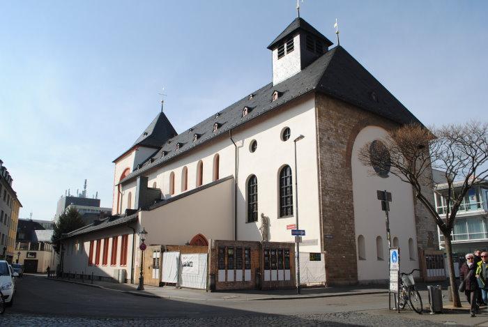 St. Johannis - älteste Kirche in Mainz